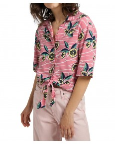 Lee KNOTTED RESORT SHIRT L49X Cherry Blossom