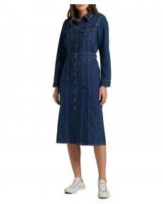 Lee LONGSLEEVE DRESS L50L Rinse