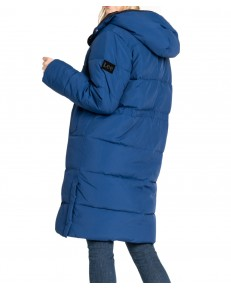 Lee LONG PUFFER JACKET L56W Oil Blue