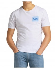 Lee SUMMER LOGO TEE L63L Bright White