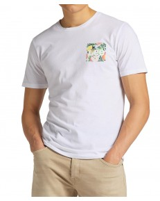 Lee SUMMER LOGO TEE L63L White Canvas
