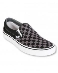 Vans U CLASSIC SLIP-ON Black/Pewter Checkerboard