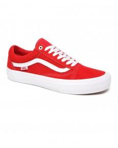 Vans OLD SKOOL PRO (Suede) Red/White