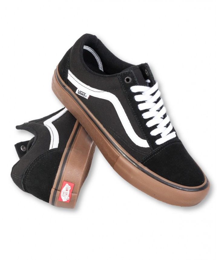 Old Skool Pro (Black White Gum)
