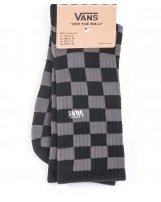 Vans Socks CHECKEBOARD CREW Black/Charcoal