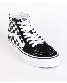 Vans SK8-HI PLATFORM 2.0 Checkerboard/True White