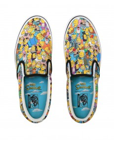 Vans COMFYCUSH SLIP-ON (The Simpsons) Springfield