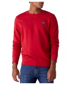Wrangler SIGN OFF CREW W6589 Red