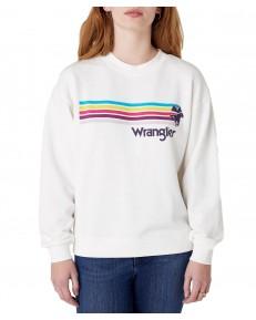 Wrangler RETRO SWEAT W6N0H Off White